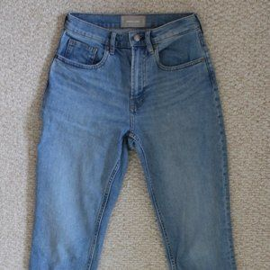 Everlane High-rise Straight Leg Jeans